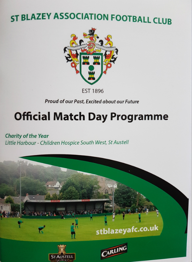 Image result for st blazey match day program